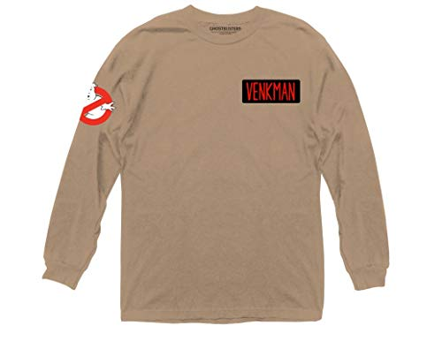 Ripple Junction Ghostbusters Venkman Faux Jumpsuit Adult Long Sleeve Medium Natural]()