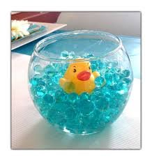 dle : One 12 Gram Packet of Blue Water Beads and 1 Rubber Ducky ()