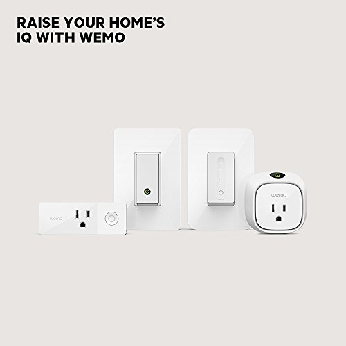 Wemo Dimmer WiFi Light Switch, Works with Alexa, the Google Assistant and Apple HomeKit (F7C059)