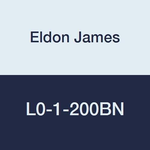 Eldon James L0-1-200BN Black Nylon Equal 90 Degree Elbow 1//16 Hose Barb Pack of 10