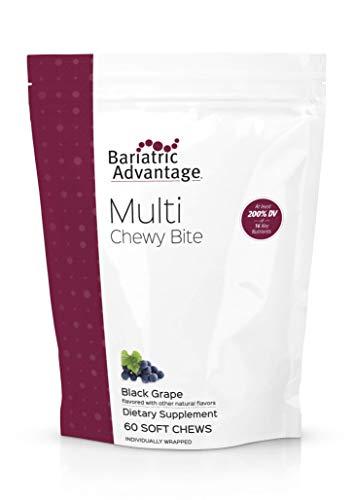 Bariatric Advantage - Multi Chewy Bite - Black Grape, 60 Count ()