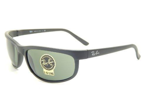 New Ray Ban Predator 2 RB2027 W1847 Black/G-15 - Ray Ban Sunglasses Predator 2