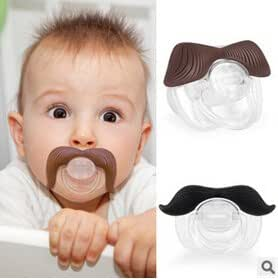 Amazon.com: baby pacifier clips clip ciuccio funny pacifiers for ...