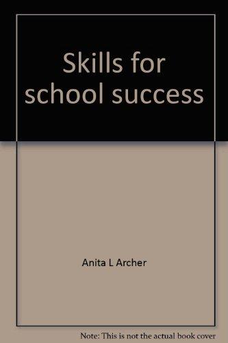 Skills for school success: Book three
