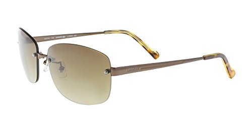LACOSTE Sunglasses L139SA 234 Shiny Ligh Rectangular Womens 60x16x135