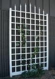Dura-Trel 11174 Winchester Trellis, White