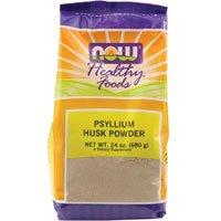 Psyllium Husk, Powder 24 oz by Now Foods (Pack of 3)