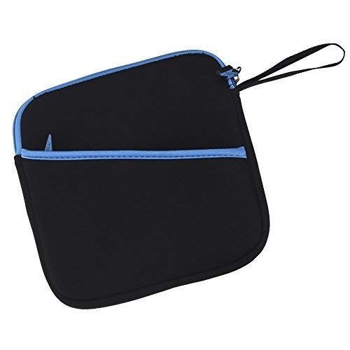 BCP 7-1/2inches External USB DVD /Blue-Ray/ Hard Drive/ GPS Neoprene Protective Storage Carrying Bag Sleeve/ Pouch with Extra Storage Pocket