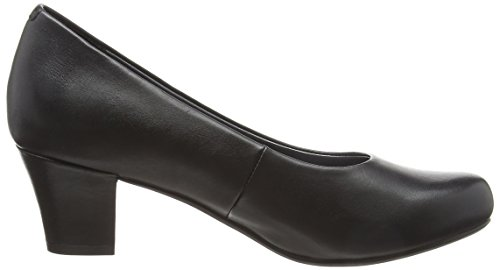 Tacco Hotter Donna Punta Col black Angelica Scarpe 001 Black Chiusa OOnqSA