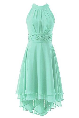 Hi Bridesmaid Homecoming Chiffon Mint Short DYS Dress Women's Prom Lo Dresses 7RqCwZxnH