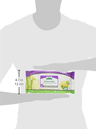Aleva Naturals Bamboo Baby Wipes Travel 30 Count