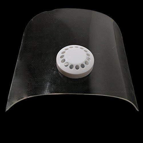 CHUNSHENN 1pc Blasting Hood Sand Abrasive Grit Mask Anti Dust Equipment with Extra 2pcs Clear Lens Abrasive Accessories