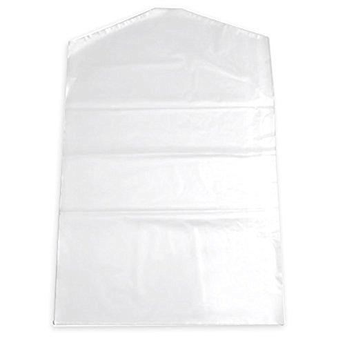 Dealglad 10pcs Plastic Transparent Clothes Suit Garment Dustproof Cover Storage Bag (60 x (Clear Garment Bags)
