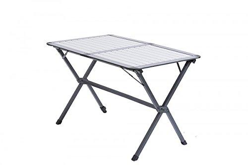 NEUER HERSTELLER - ALU ROLLTISCH - STABIELO - 80 x 70 x 60 cm + TASCHE - 4,8 KG - Camping und Freizeit-Rolltisch. Ein Großflächiger, stabiler Scherentisch mit hoher Beinfreiheit - Vertrieb Holly® Prod