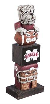 Evergreen NCAA Mississippi State Bulldogs Tiki Totem