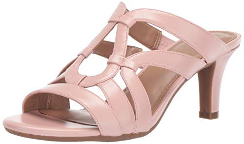 Aerosoles A2 Women's Passageway Heeled Sandal Light Pink 8 M US