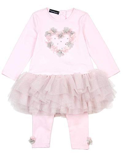 Kate Mack Little Girls' Unicorn Dreams Tunic and Leggings, Sizes 12M-4-3T ()