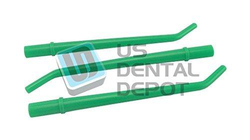 DEFEND- Surgical Aspirator Tips Green 0.25 in Diameter 25pk 113653 Us Depot