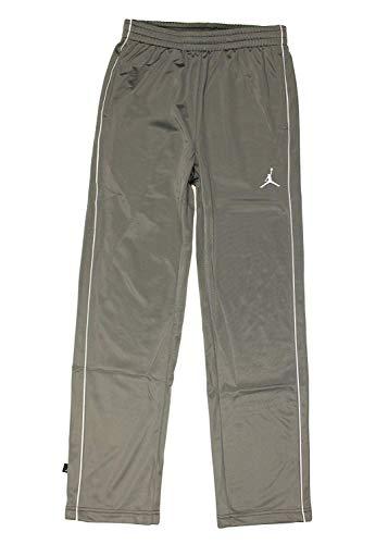 Jordan Nike Air Jumpman Boys' Basketball Tricot Sweatpants (Large, Gray)  (Best Pants For Jordans)
