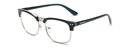 films EmbryformBlue lunettes anti-radiations pour miroir plat rétro Bleu / argent