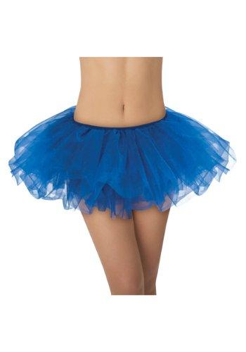 5 Layer Running Skirt, Dance Tutu, Dress Up, Fun Run 5K, Warrior Dash, Color Run (Royal Blue) ()