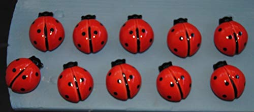 Cabinet Knobs & Pulls Nifty Nob Ladybug Ceramic Cabinet Knob Drawer Pull Furniture Bath