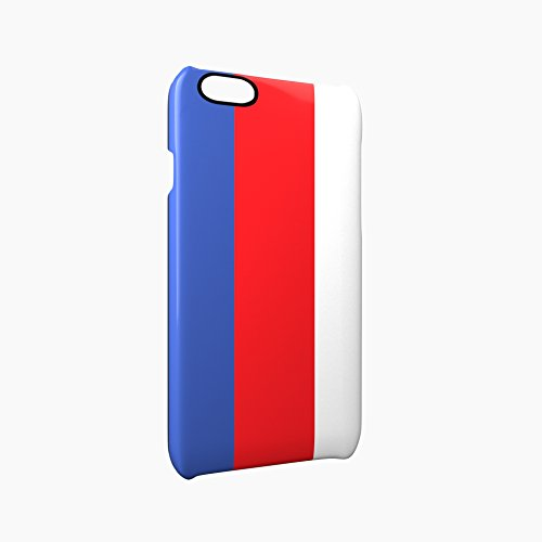 Flag of Serbia Glossy Hard Snap-On Protective iPhone 6 Plus + / 6S Plus + Case Cover