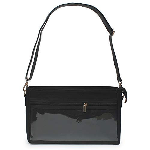 - Crossbody Bag Front PVC Display Window Noble Bags Weekend Daily Canvas WOW Bag