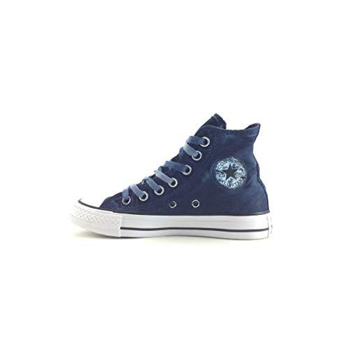 Ctas Converse Bleu Ginger Raw Blau Mixte Baskets blau Hautes Hi Adulte fddqwC6