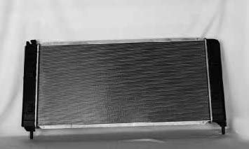 Mishimoto R2581-AT Toyota 4Runner V8 Replacement Radiator 2003-2009 Silver