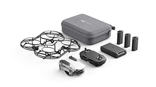 DJI Mavic Mini Combo – Drone FlyCam Quadcopter UAV with 2.7K Camera 3-Axis Gimbal GPS 30min Flight Time, less than 0…