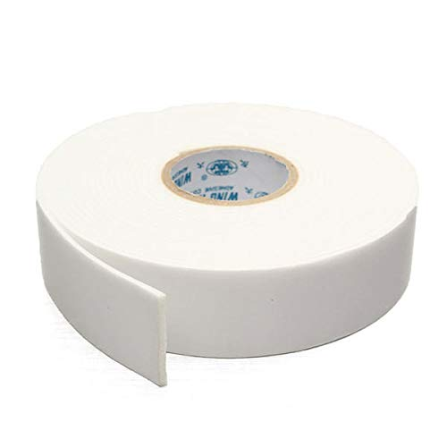 K&A Company 5M White Strong Double Sided Tape Wall Mounting Foam Tape, Medium
