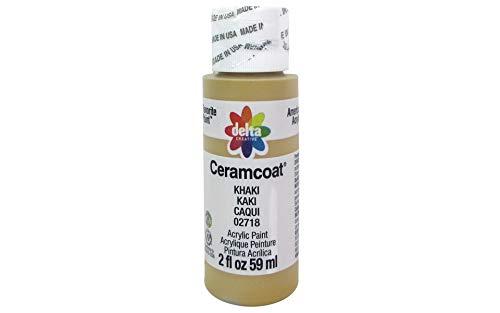 (Delta Creative 02718 Ceramcoat Acrylic Paint, 2 oz, Khaki)