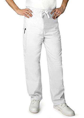 adar-universal-mens-natural-rise-drawstring-tapered-leg-pants-petite-504p-white-xxs