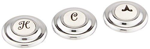 3311-0020A INDEX CAP-H & C & ARROW-PROC CROSS-HAMP (American Standard Index Button)