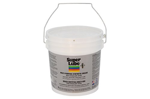 Super Lube 41050 Synthetic Grease (NLGI 2), 5 lb Pail, Translucent White by Super Lube