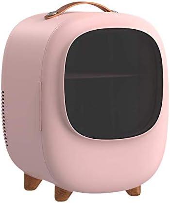 カー&ホームのためのAC / DC電源コードと8Lポータブルカー冷蔵庫ミニ冷蔵庫冷凍庫暖房冷蔵庫コンプレッサー,ピンク