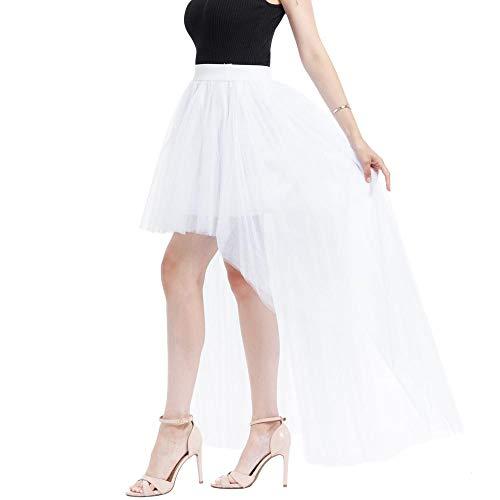 603c2a8152 VJGOAL Mujeres Verano Moda Casual Color sólido Malla Tul Falda Burbuja  Princesa Falda Fiesta Mini Falda Tutu(Un tamaño