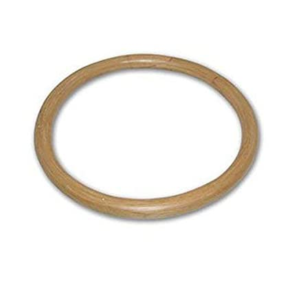 CHuangQi Wing Chun Rattan Ring (14-Inch), Tsun Siu Lum Kung Fu Ring, Basic  Martial Arts Training Equipment