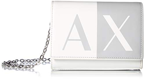 (A|X Armani Exchange Chain Wallet, White 67)