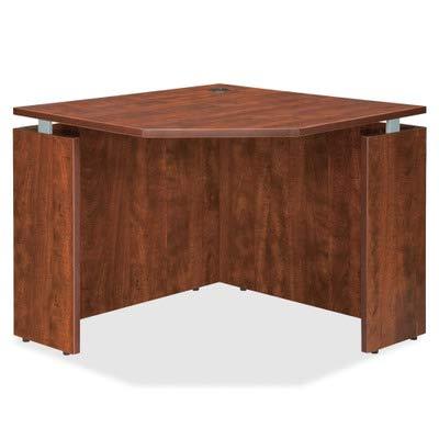 Lorell Corner - Lorell LLR68695 Executive Desk, Cherry