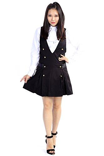 Ss Uniform Halloween Costume (Inu x Boku SS Secret Service Riricho Shirakiin Ririchiyo V3 School Uniform Set)