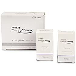TWO 2 x Waters Therapy Shower Filter Replacement Cartridge with Collagen, Vitamin C and Aroma Therapy
