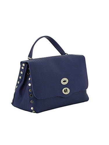 Damen Leder 61346035 Zanellato Handtaschen Blau T4SCxn
