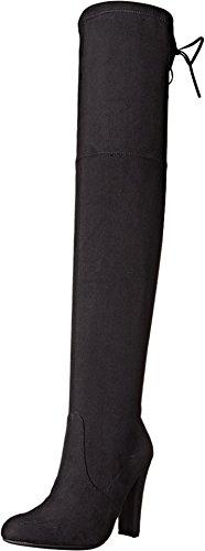 Steve Madden Women's Gorgeous Winter Boot, Black, 8.5 M US