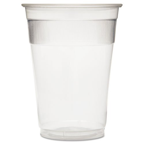 GEN Individually Wrapped Plastic Cups, 9oz, Clear - 1,000 cups.