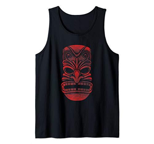 Retro Tiki Funny Hawaiian Vacation Luau Tiki Hawaii Pun Gift Tank Top -