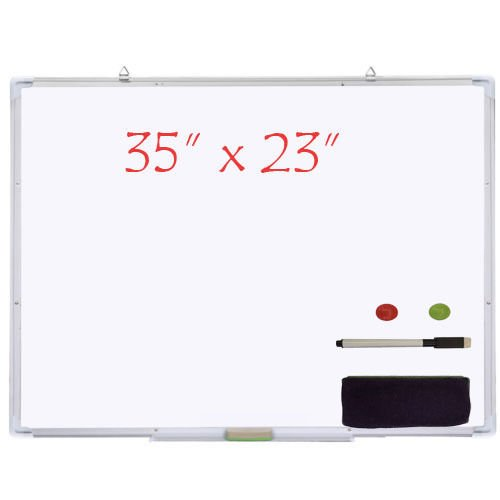 GSV Store Marker Pen Magnetic White Board Dry Erase Board Eraser Office by GSV Store