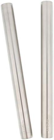 FLAMEER ショルダーリグ用 19mm 延長ロッド(2本) DSLR ビデオカメラサポート ステンレススチール製 - 200mm