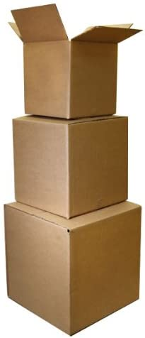 The Boxery 6x4x4 Shipping Boxes 25 Pack